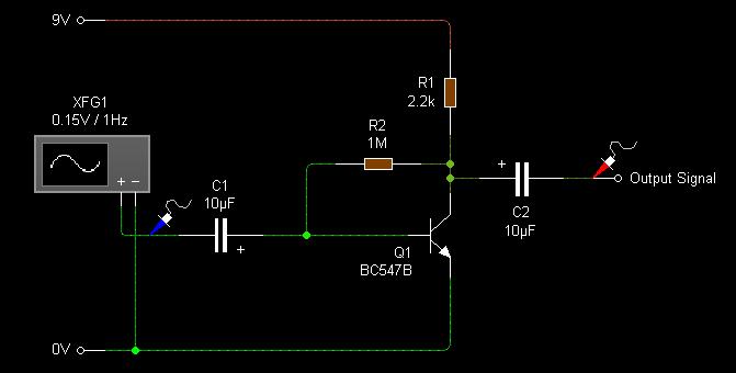 Reverse Bias Oscillator